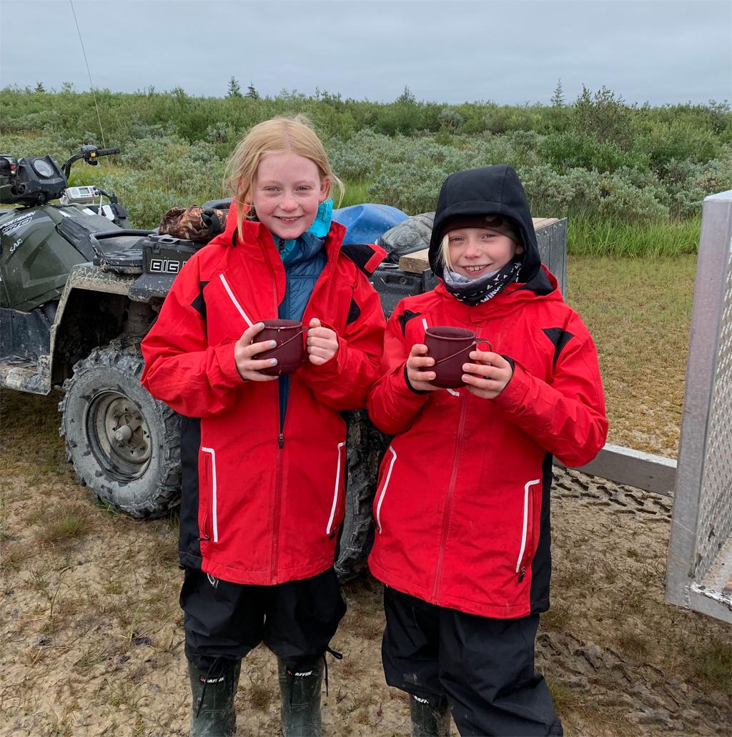 Nanuk Polar Bear Lodge, through the eyes of youth