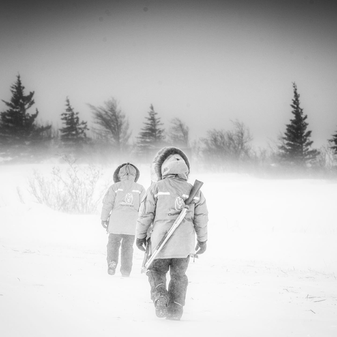 Windchill at -50. The Story Behind the Photo