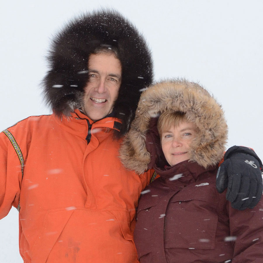 Mike and Jeanne Reimer, Owners of Churchill Wild.
